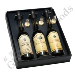 5 8 10year Balsamic Dressing in Trittico Gift
