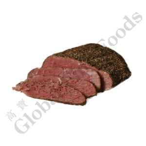 Pastrami Beef Brisket Fully Cooked