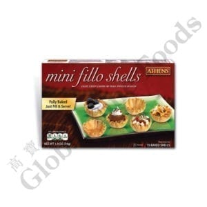 Mini Fillo Shells Traditional