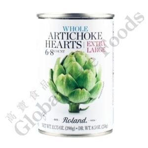 Artichoke Hearts in water