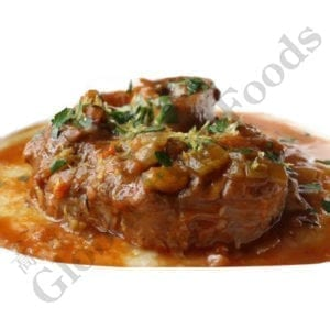 Osso Buco Cooked with Juice