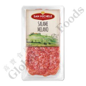 Italy Salami Sliced
